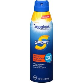 Coppertone 5.5 oz. SPF 30 Sunscreen Spray/Mist