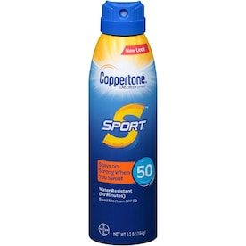 Coppertone 5.5 oz. SPF 50 Sunscreen Spray/Mist