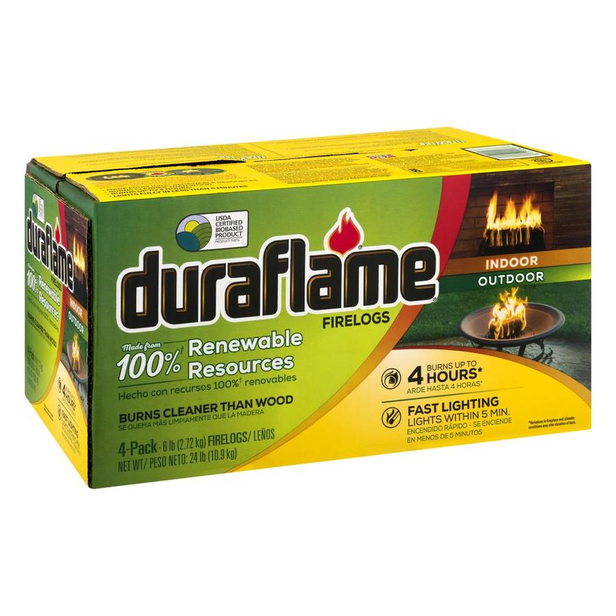 Duraflame 4-Pack 6-lb Fire Logs