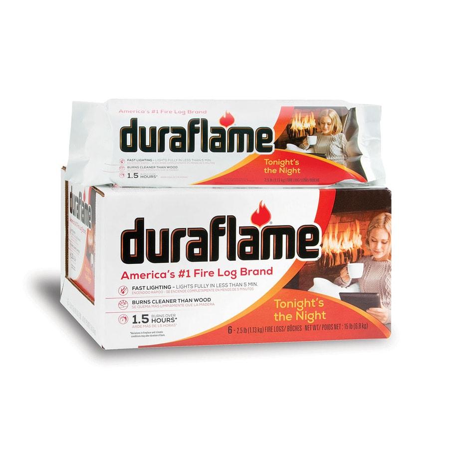 Duraflame 6-Pack 2.5-lb Fire Logs