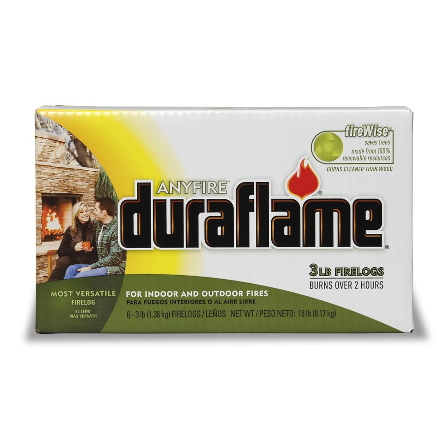 Duraflame 6-Pack 3-lb Fire Logs