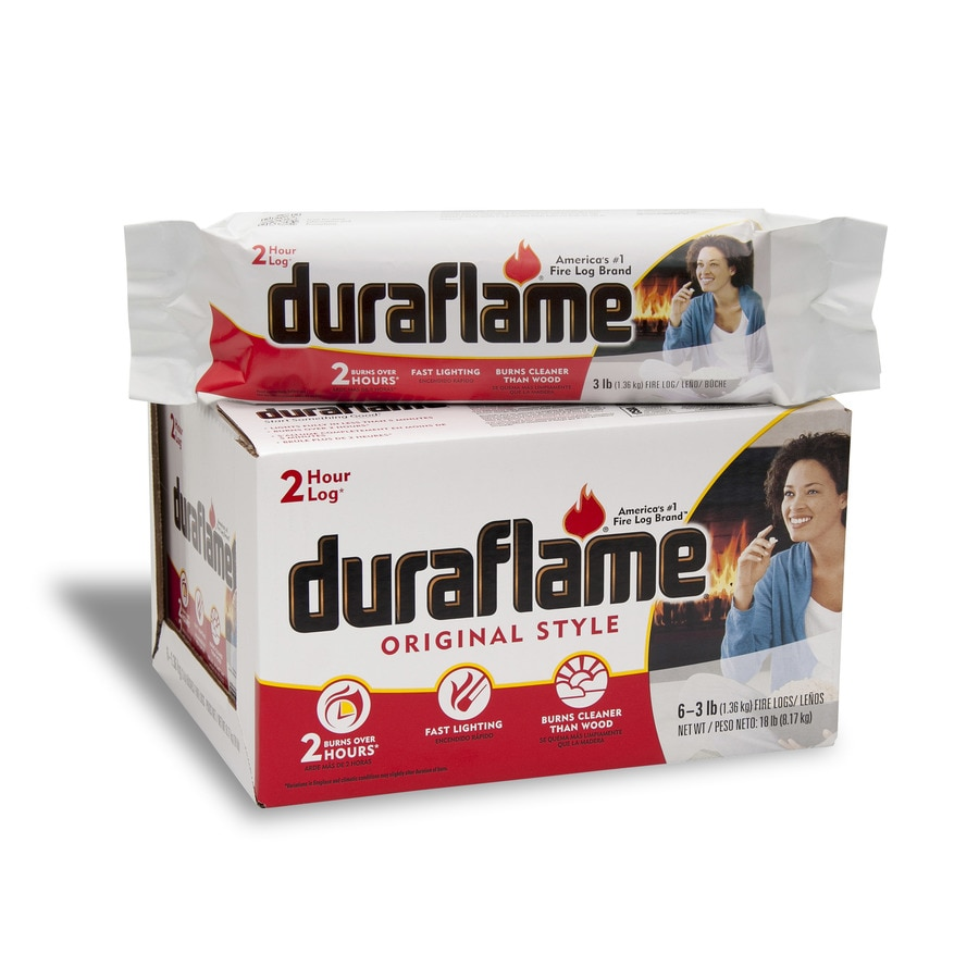 Duraflame 6-Pack 3 lb Fire Log
