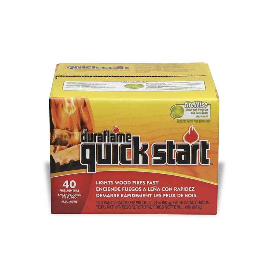 Duraflame 40-Pack Quick Start 6-oz Firestarters