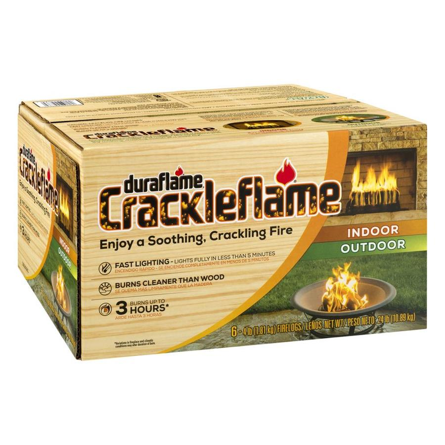 Duraflame 6-Pack 4-lb Fire Log