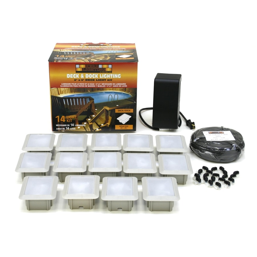Kerr Lighting White Deck Light Kit