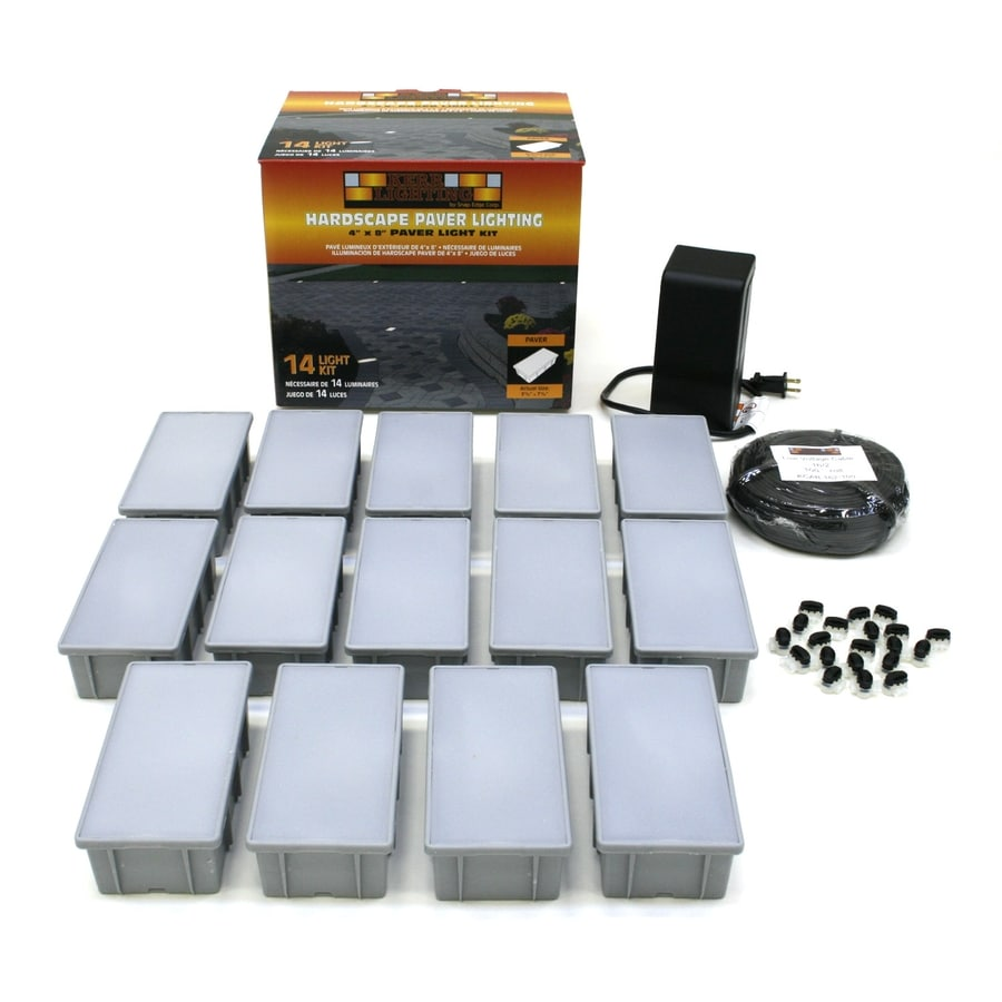 Kerr Lighting Tan Path Light Kit