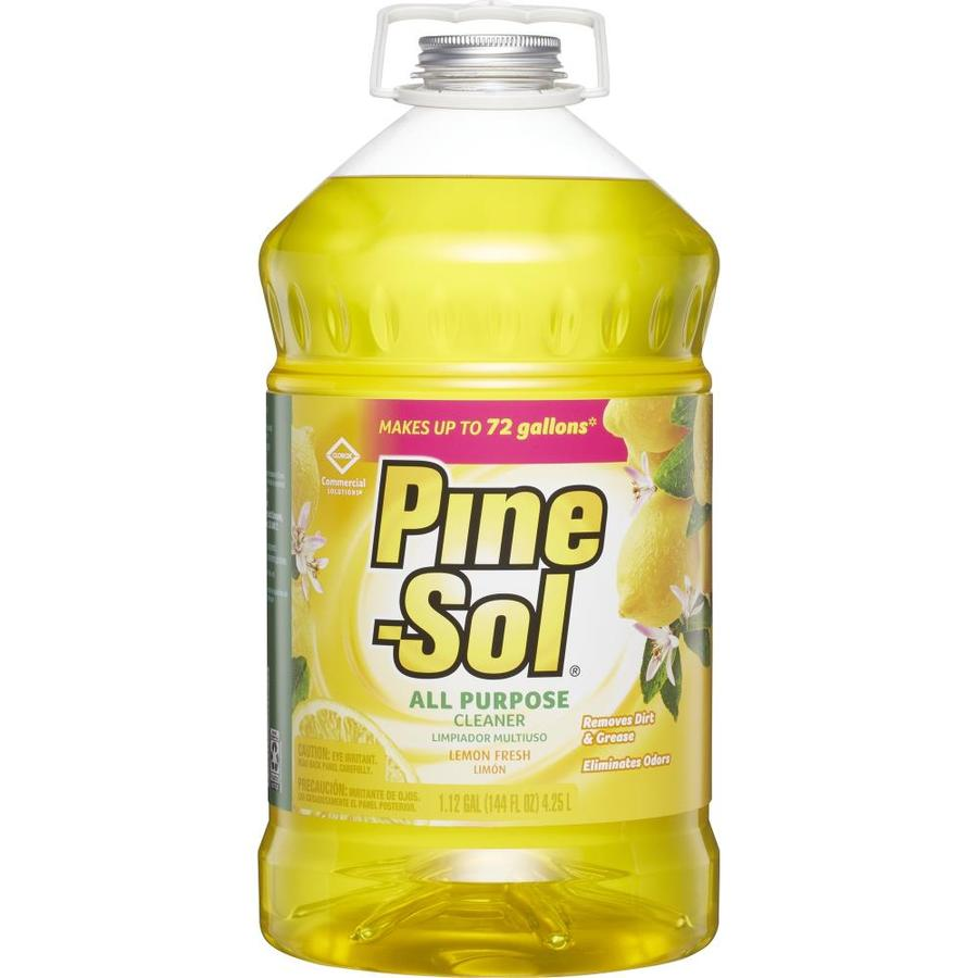 Shop Pine Sol 144 Fl Oz Lemon All Purpose Cleaner At Lowes Com