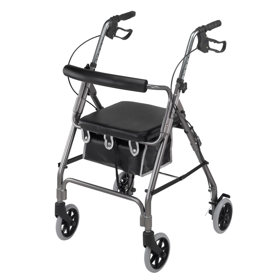 DMI Titanium Fold-Up/Easy Storage Rollator