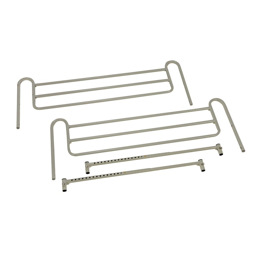 DMI 46-in Coated Steel Twin Bed Rails