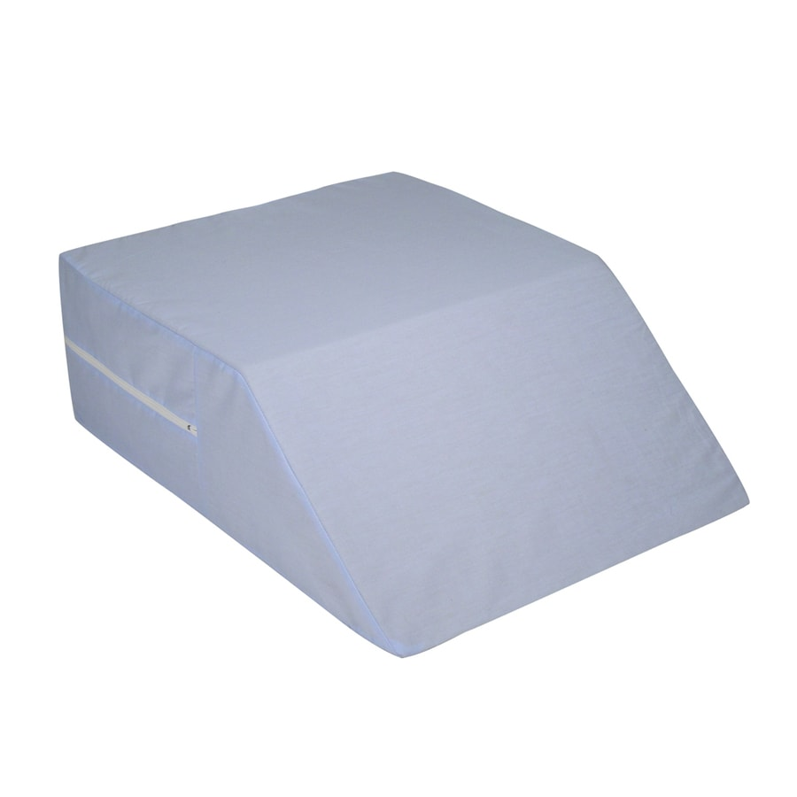 shop dmi 20 in x 24 in foam square bed wedge pillow at