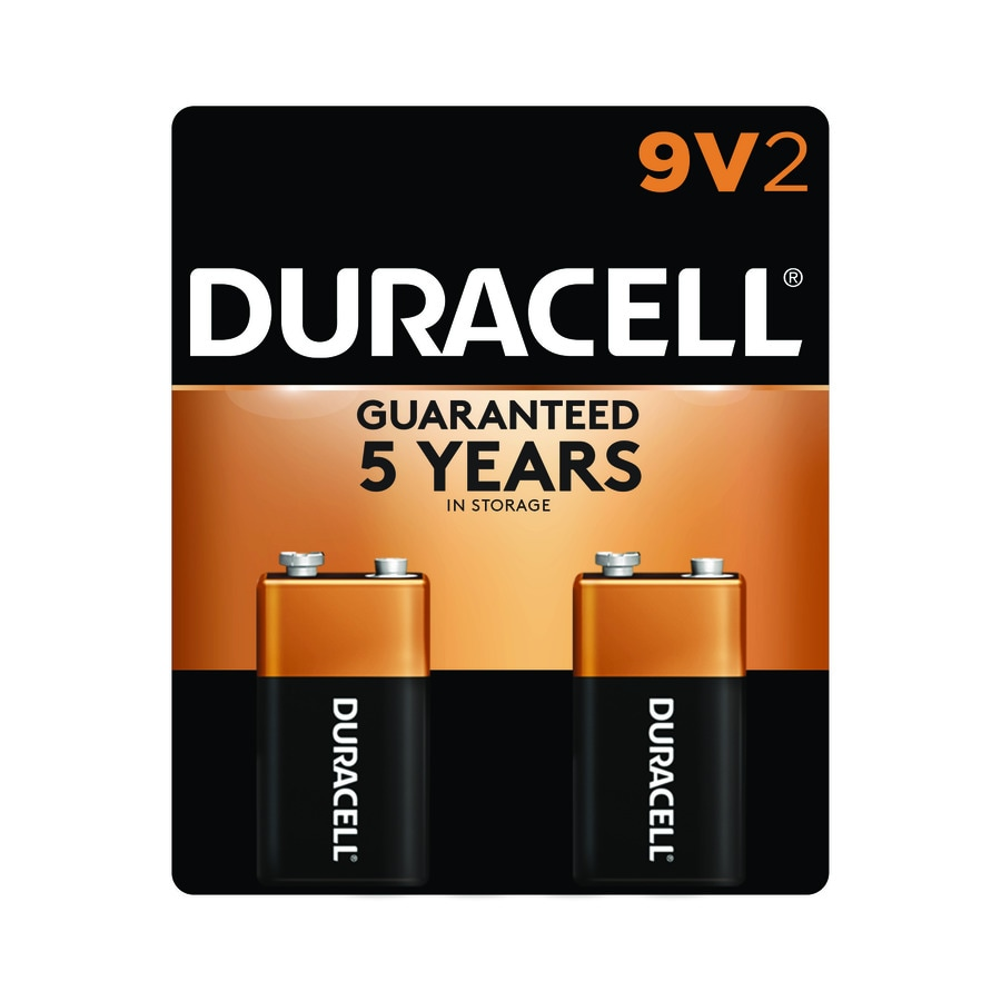 Duracell 2-Pack PP3 (9v) Alkaline Battery