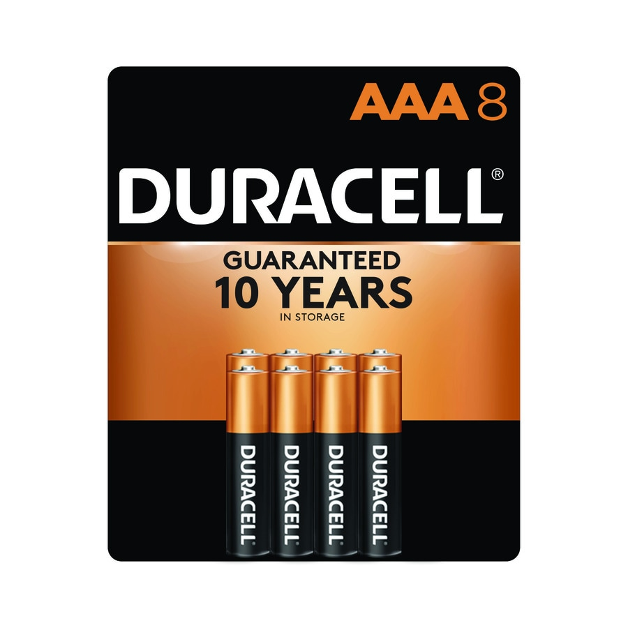 Duracell 8-Pack AAA Alkaline Battery