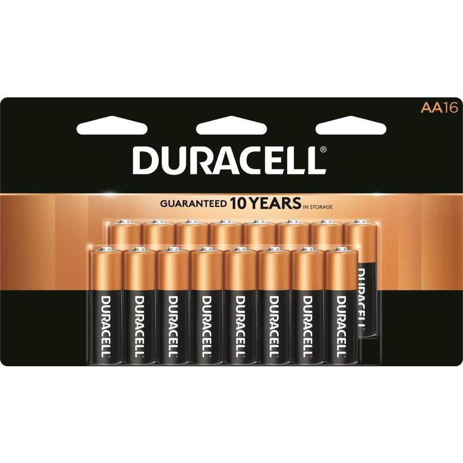 Duracell 16-Pack AA Alkaline Batteries
