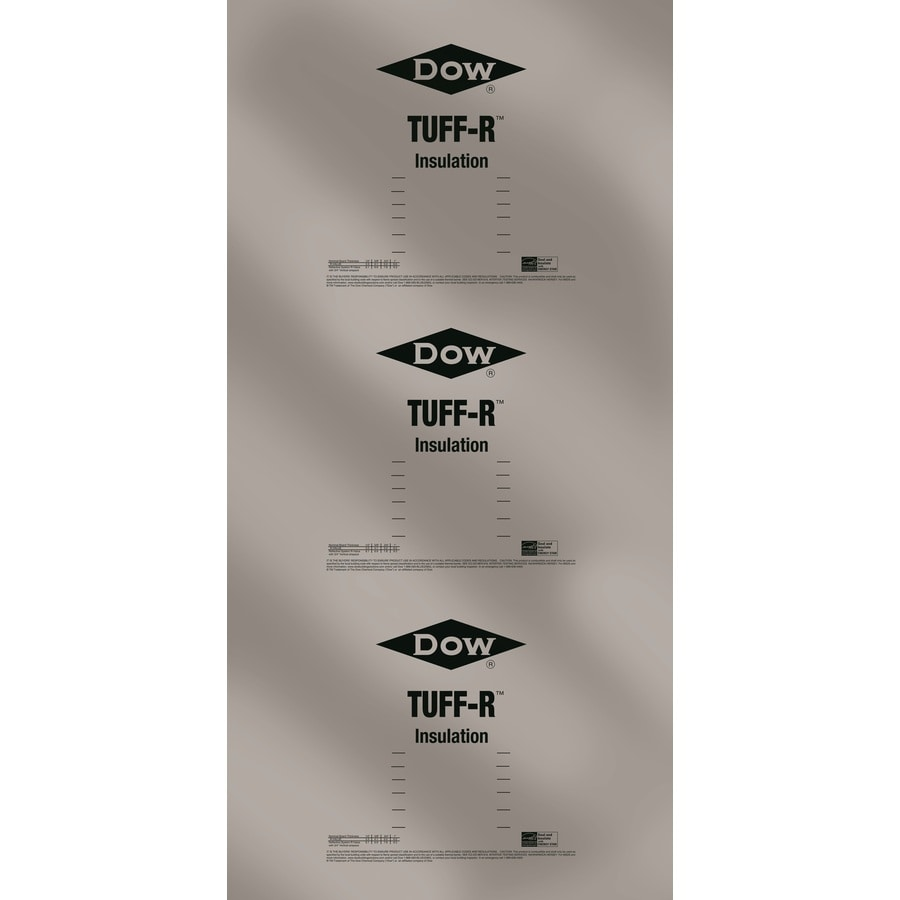 Super TUFF-R Polyisocyanurate Foam Board Insulation (Common: 1.5-in x 4-ft x 8-ft; Actual: 1.5-in x 4-ft x 8-ft)