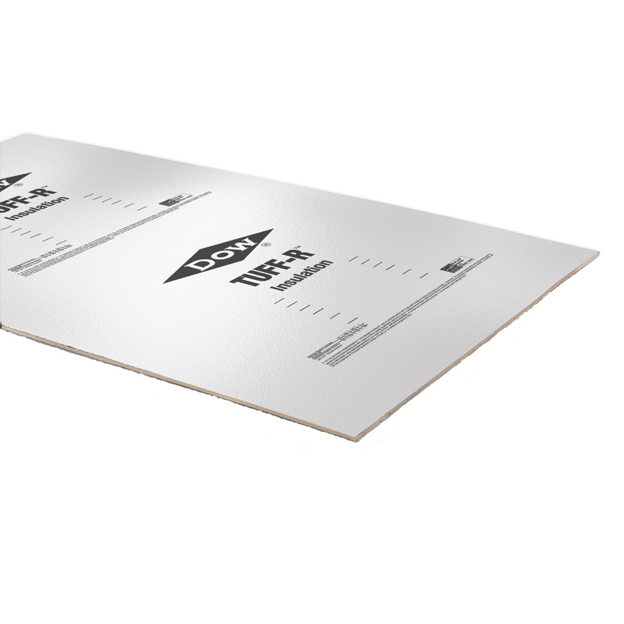 Polyisocyanurate Foam Board Insulation (Common: 2-in x 4-ft x 8-ft; Actual: 2-in x 4-ft x 8-ft)