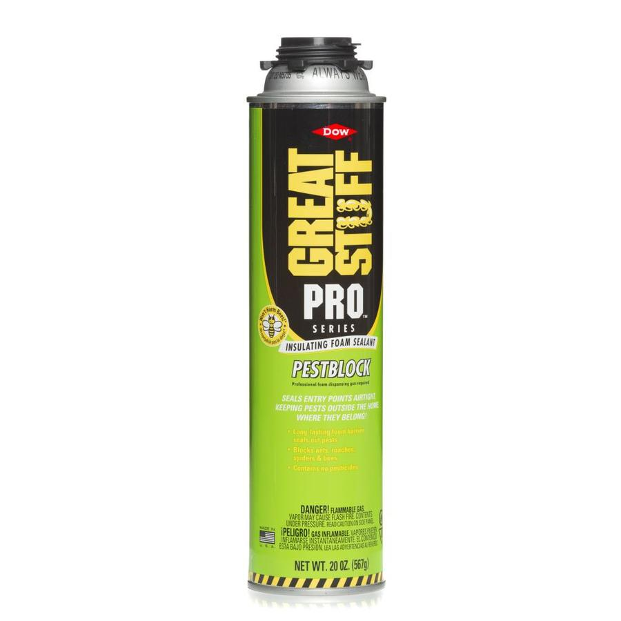 Dow GREAT STUFF PRO Pestblock Insulating Foam Sealant Spray Foam Insulation