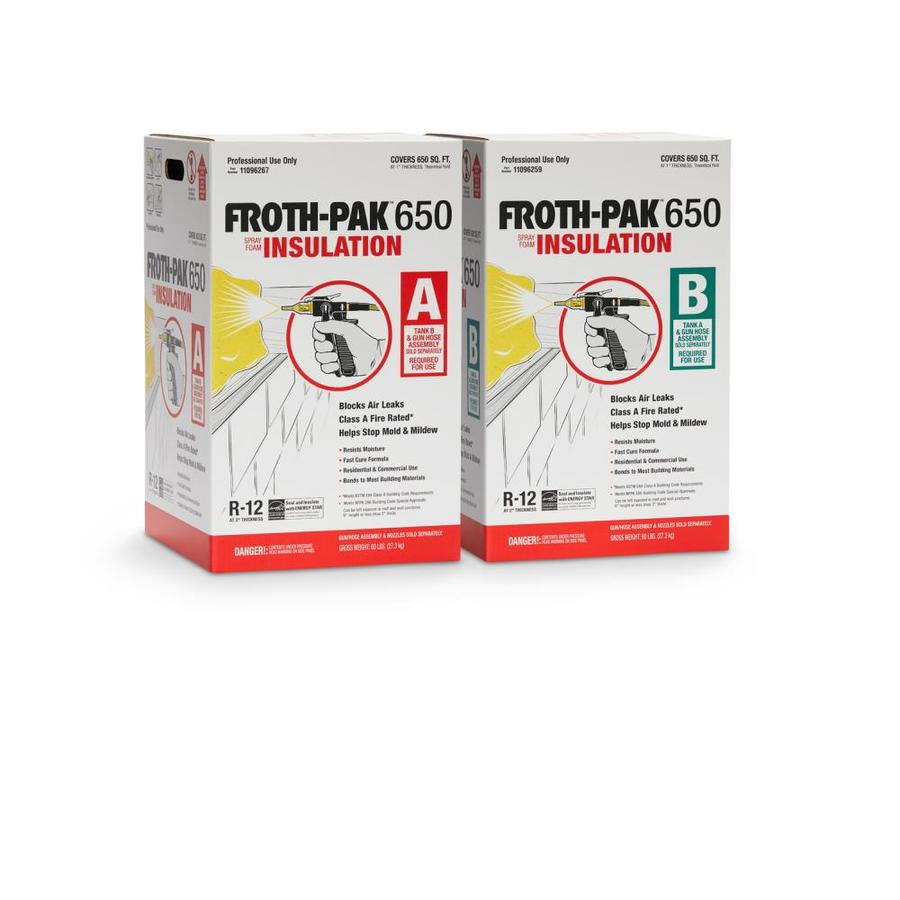 Dow Froth Pak 650 Foam Insulation Kit At Lowes Com
