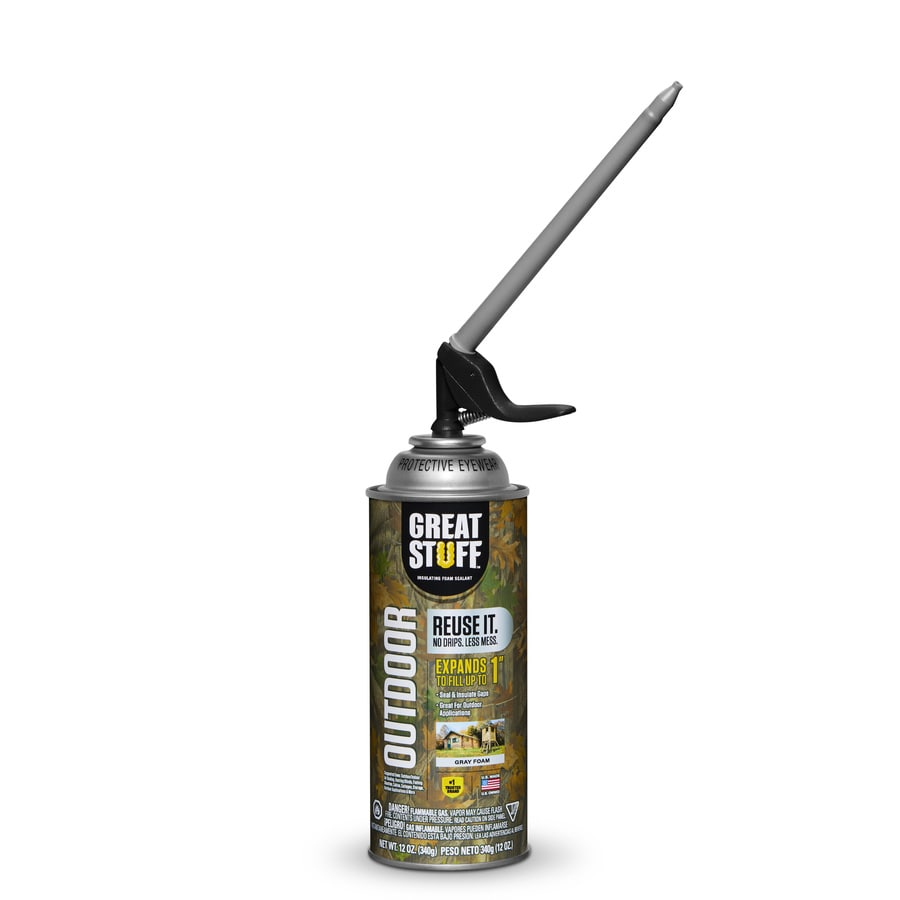 Great Stuff Smart Outdoor 12oz Qp 12 0 Fl Oz Spray Foam Insulation