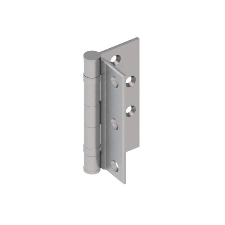 Hager 4.5000-in H Satin Chrome Radius Interior Mortise Door Hinge