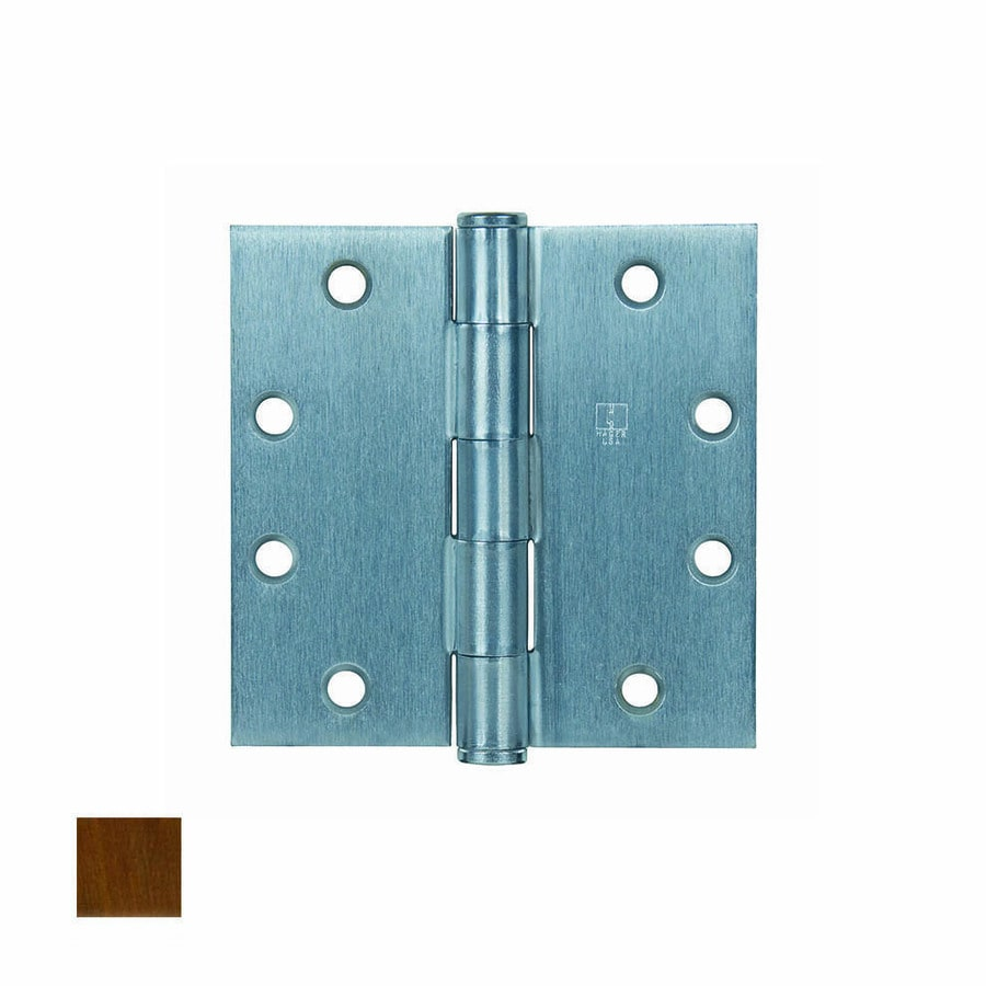 Hager 4 In Oil Rubbed Bronze Mortise Door Hinge At Lowes Com