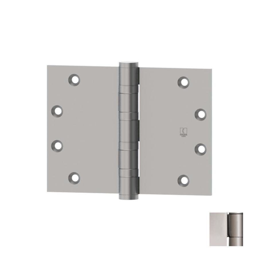 Hager 4.5-in H Polished Chrome Radius Interior/Exterior Mortise Door Hinge