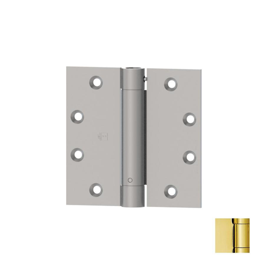 Hager 3.5-in H Polished Brass Radius Interior Mortise Door Hinge