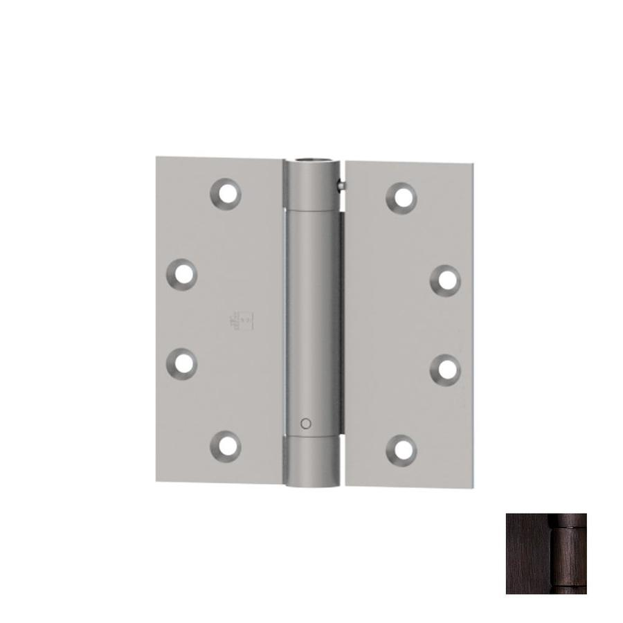 Hager 4.5-in H Oil-Rubbed Bronze Radius Interior Mortise Door Hinge