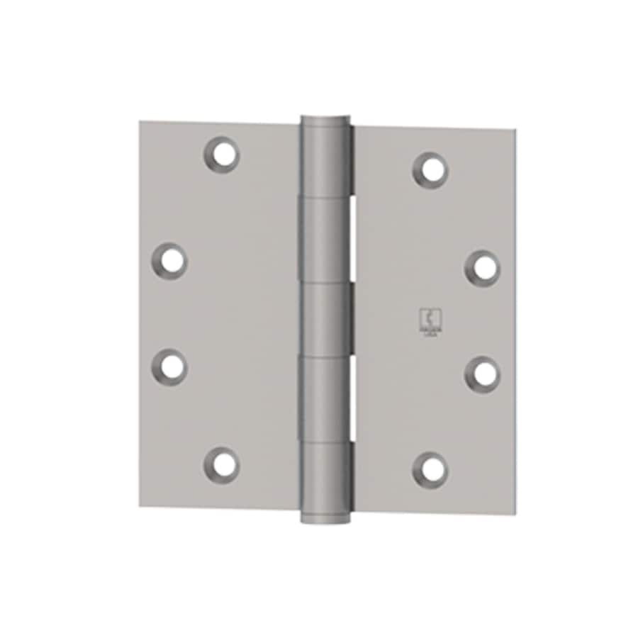 Hager 3.5-in H Satin Bronze 1/4-in Radius Interior Mortise Door Hinge
