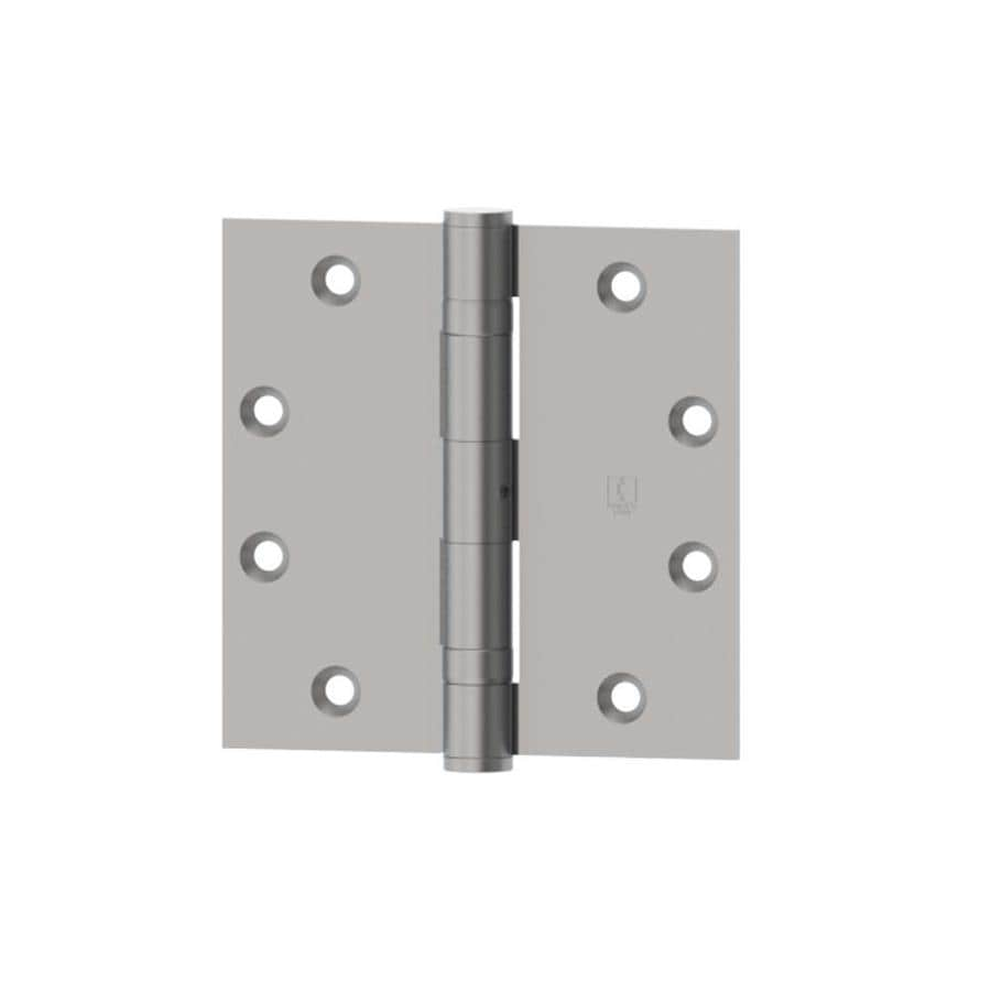Hager 4.5-in H Satin Chrome Radius Interior Mortise Door Hinge