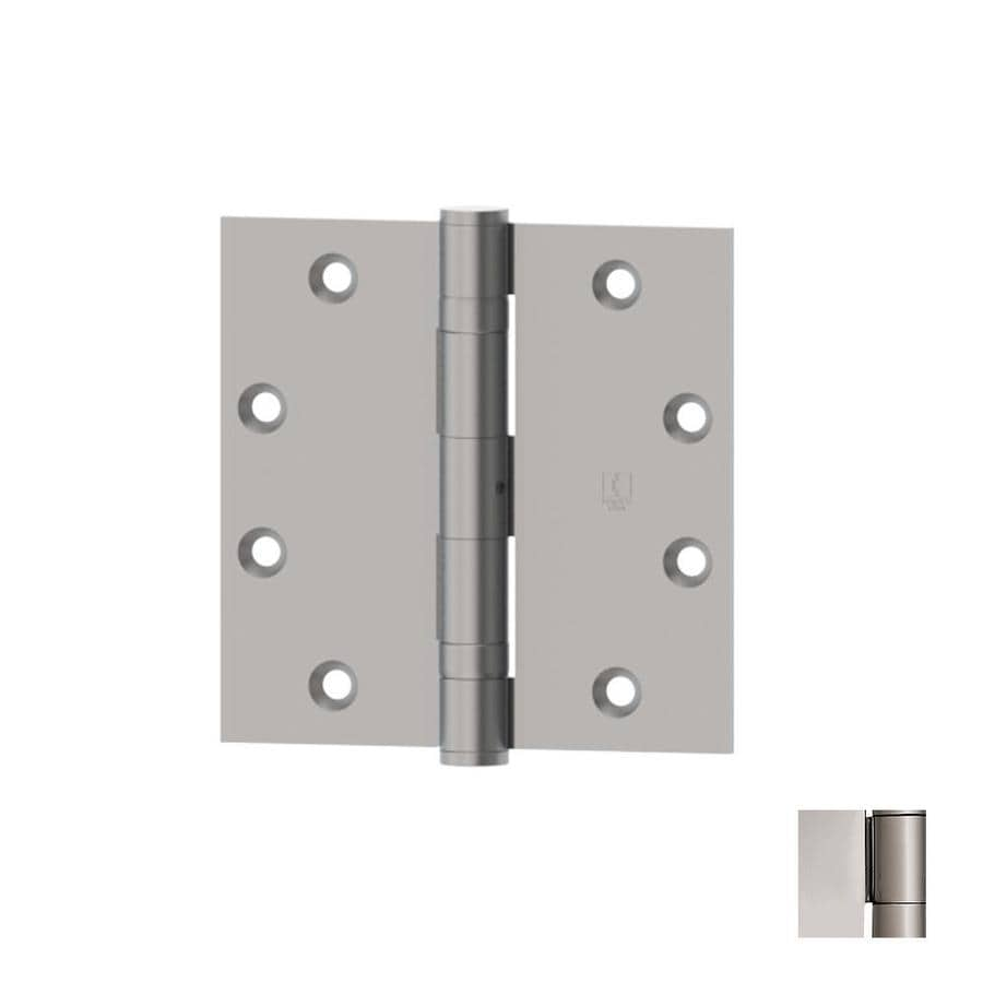 Hager 4.5-in H Polished Chrome Radius Interior Mortise Door Hinge