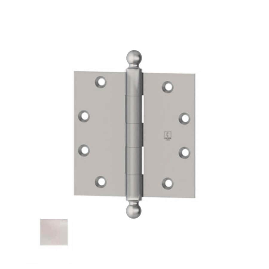 Hager 3.5-in H Polished Chrome Radius Interior Mortise Door Hinge