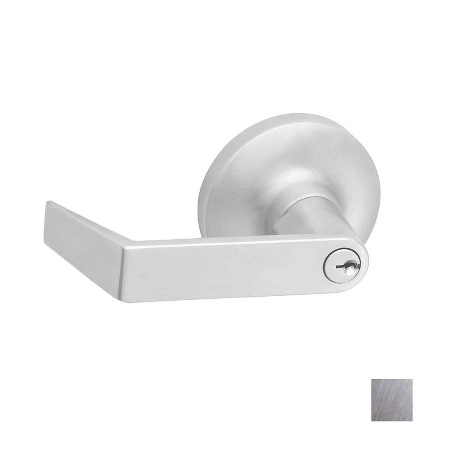 Hager 3400 Series Withnell Satin Chrome Universal Keyed Entry Door Lever