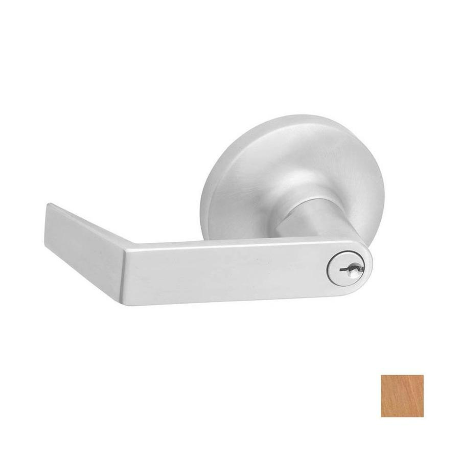 Hager 3400 Series Withnell Satin Bronze Universal Keyed Entry Door Lever