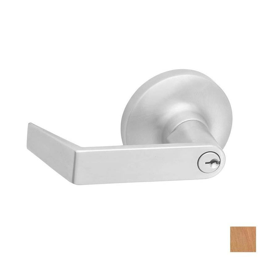 Hager 3400 Series Withnell Traditional Satin Bronze Universal Keyed Entry Door Lever