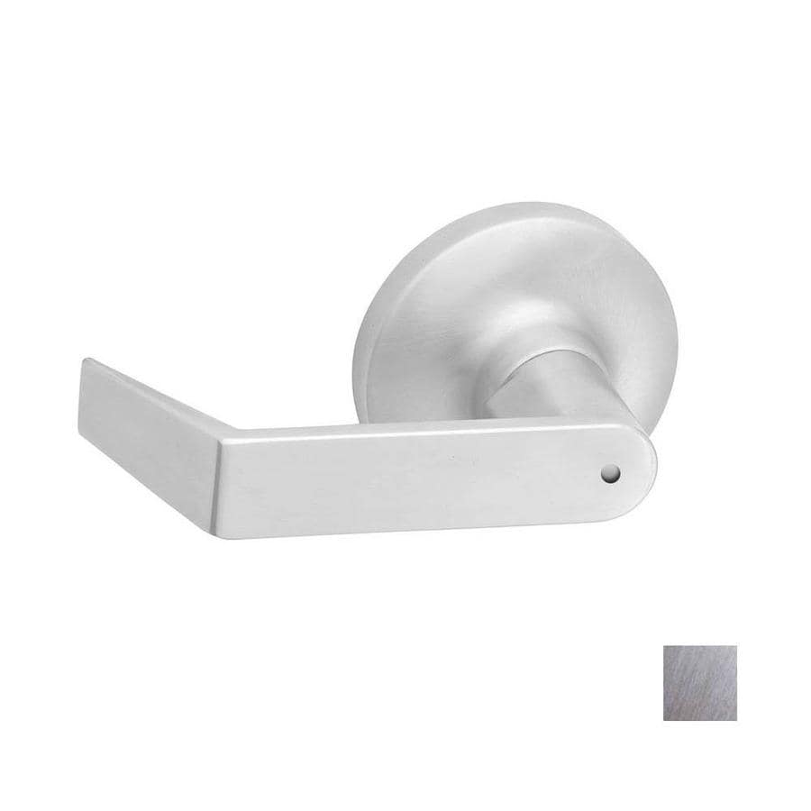 Hager 3400 Withnell Satin Chrome Push-Button Lock Privacy Door Lever
