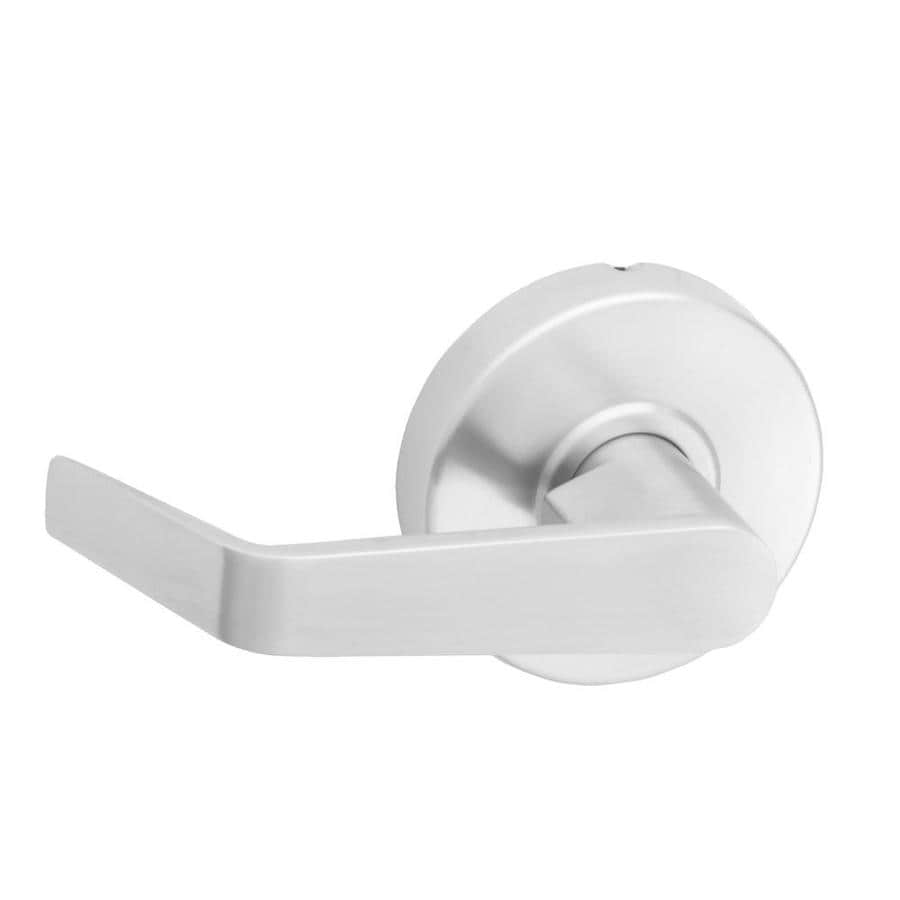 Hager 3400 Series Withnell Satin Chrome-Handed Passage Door Lever