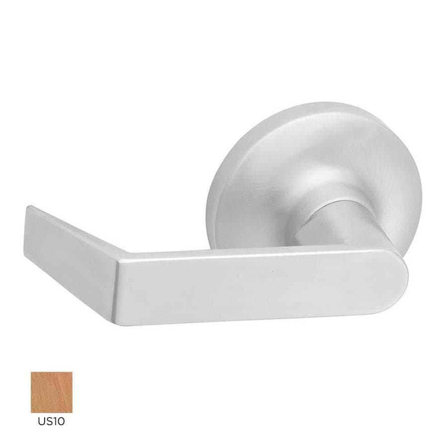 Hager 3400 Series Withnell Satin Bronze-Handed Passage Door Lever