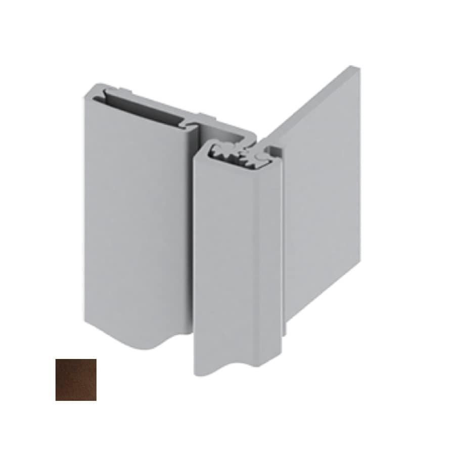 Hager 780 83-in H Dark Bronze Radius Interior/Exterior Piano/Continuous Door Hinge