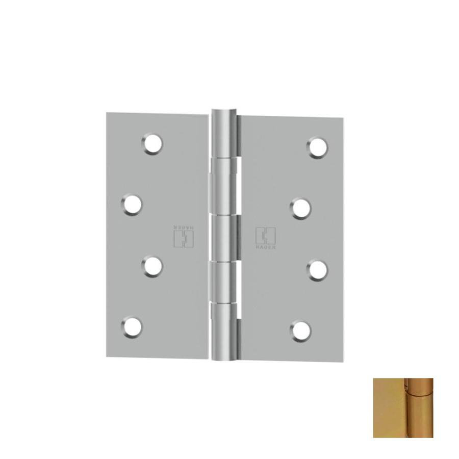 Hager Brass-Plated Door Hinge