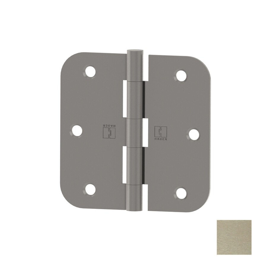 Hager Satin Nickel Door Hinge