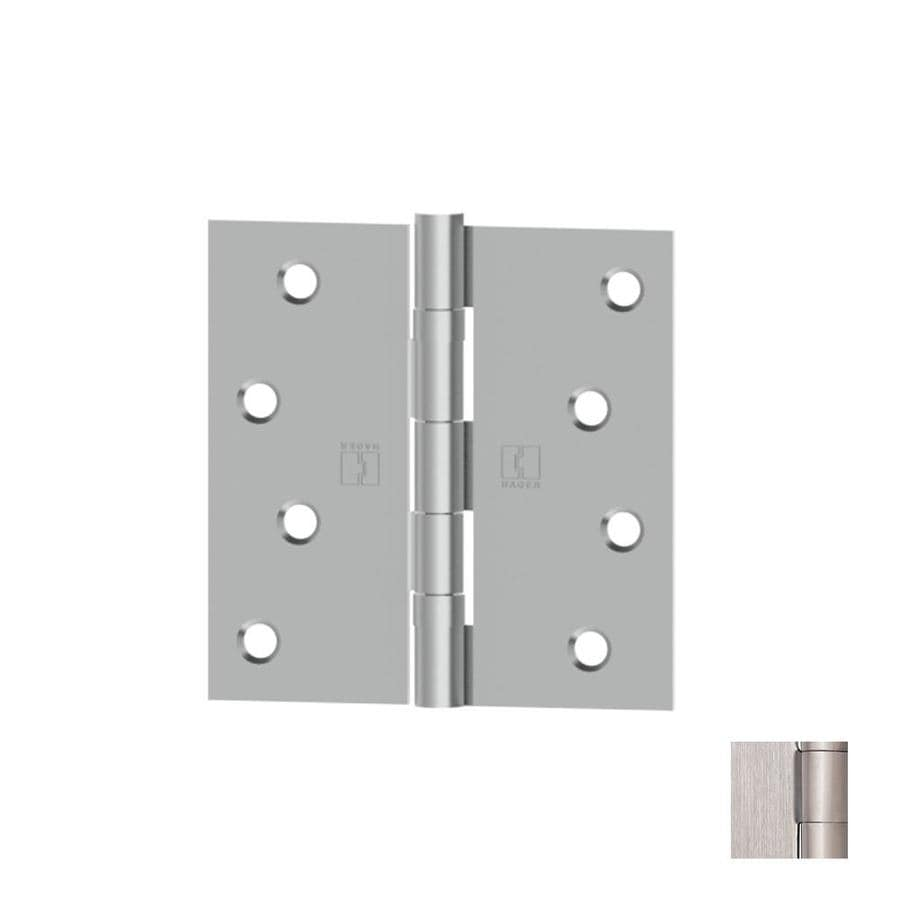 Hager 3.5-in H Galvanized Radius Interior Mortise Door Hinge