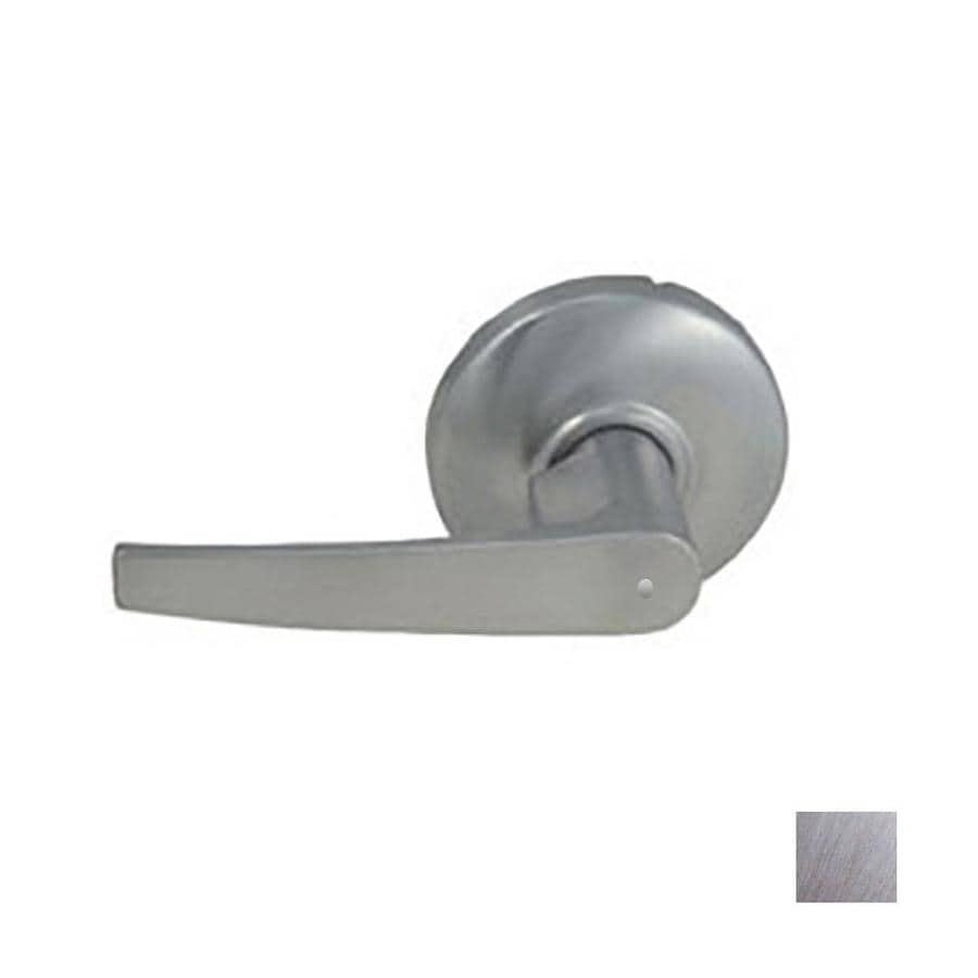 Hager 3500 Series August Satin ChromePush-Button Lock Privacy Door Lever