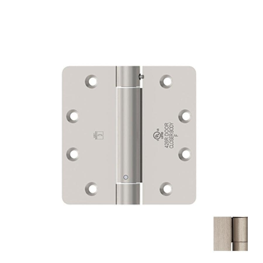 Hager 3.5-in H Satin Nickel 1/4-in Radius Interior Mortise Door Hinge
