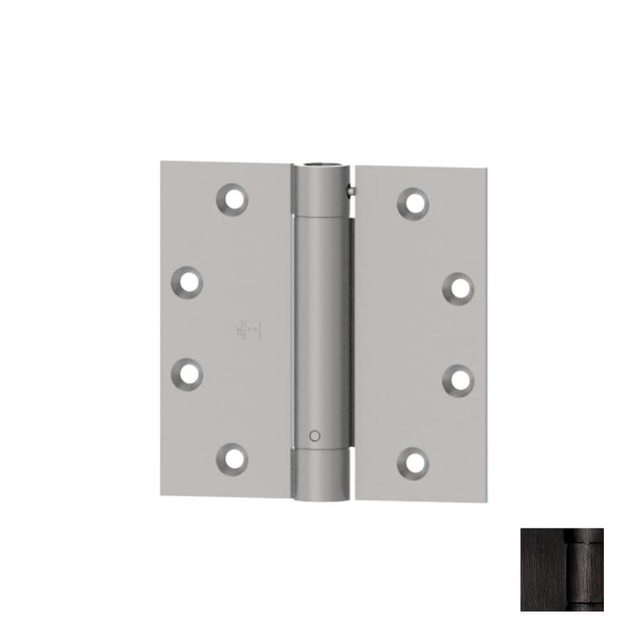 Hager 4.5-in H Oiled Black Nickel Radius Interior Mortise Door Hinge