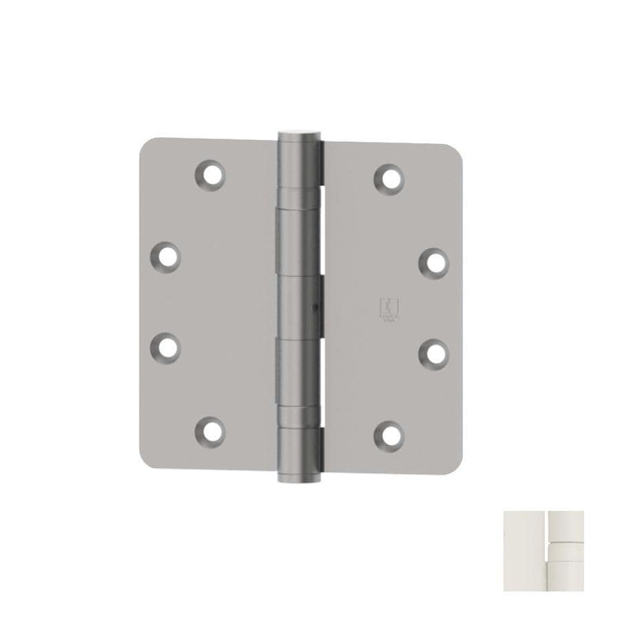 Hager White Door Hinge