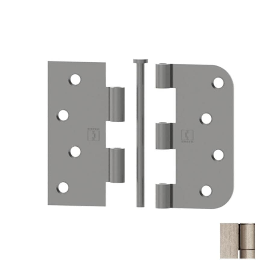 Hager 4-in H Satin Nickel 5/8-in Radius Interior Mortise Door  sc 1 st  Lowe\u0027s & Shop Hager 4-in H Satin Nickel 5/8-in Radius Interior Mortise Door ...
