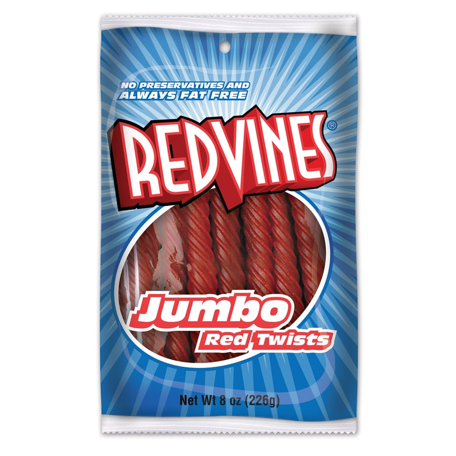 Red Vines 8-oz Red Vines Original Twists Soft Confections