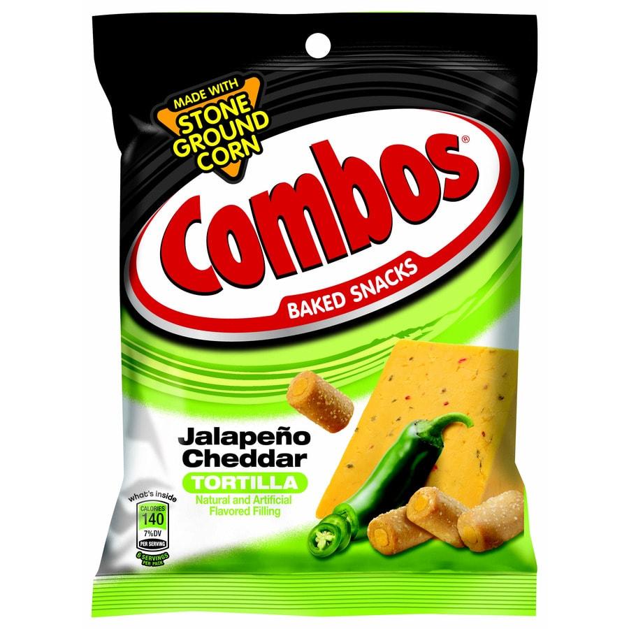 Shop Mars 6.3-oz Combos Jalapeno Cheddar Tortilla Baked ...