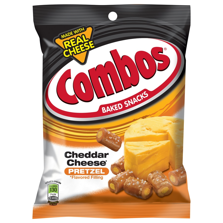 Combos 6.3-oz Cheddar Cheese Pretzel Baked Snacks