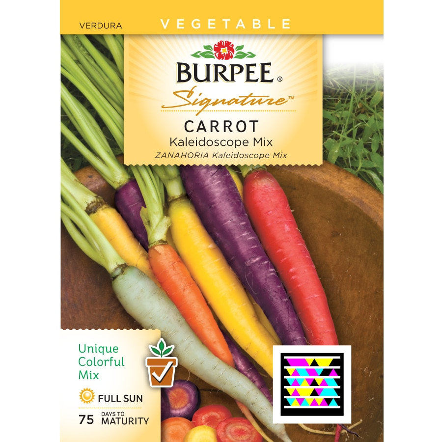 Burpee Carrot Vegetable Seed Packet